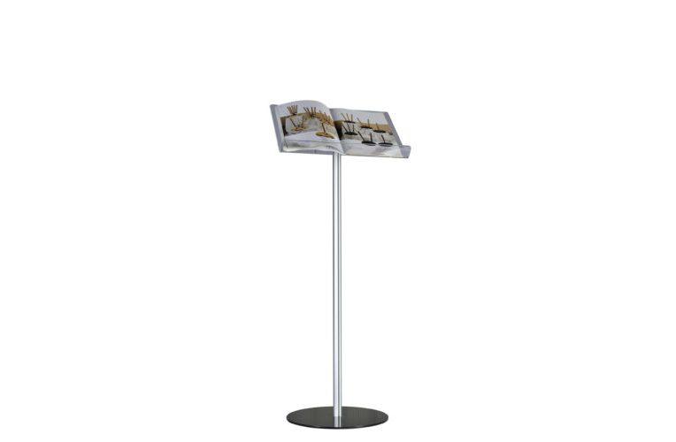 Plexiglass list stand