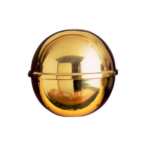 Lightweight brass flagpole finial ball